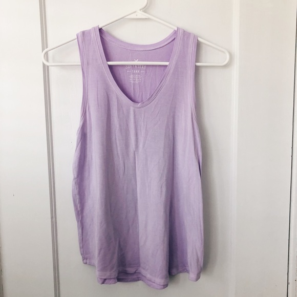 American Eagle Outfitters Tops - Lavender V Neck Tank